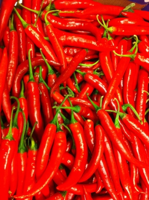 Turkish red chili